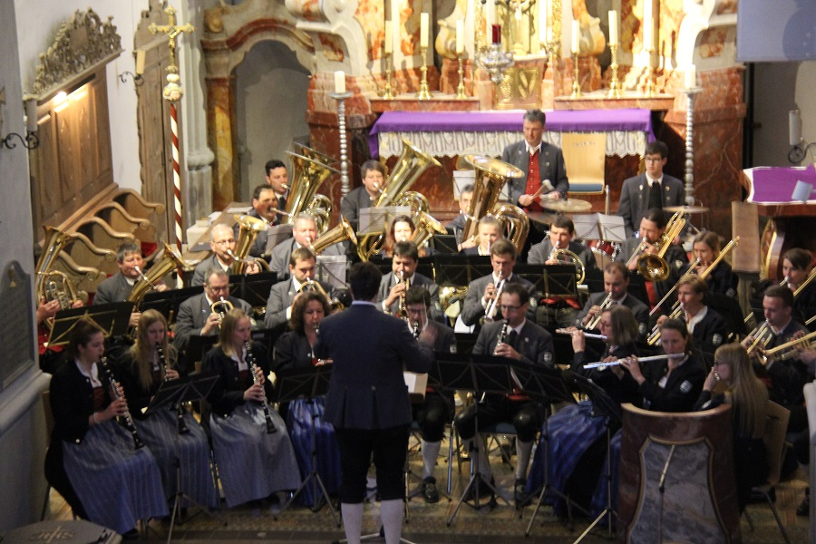 Benefizkonzert Orchester