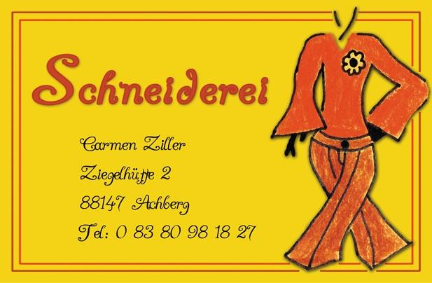 Visitenkarte Ziller