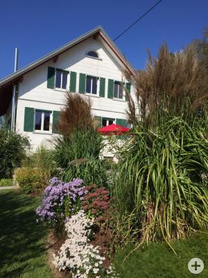 Ferienhaus Liebenweiler 11 Garten
