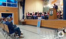 Laudatio durch Bürgermeister Peter Smigoc